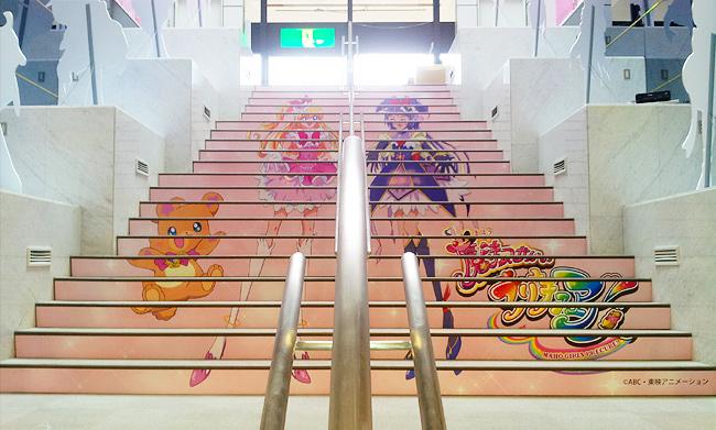制作実績:株式会社池の平ホテル&リゾーツ様 ・階段サイン