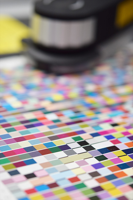 カラープロファイル作成用設備