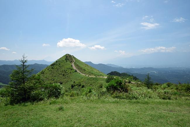 平沢山から眺める飯盛山
