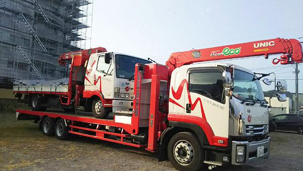未来ネットワーク(株)様 車輛マーキング トラック