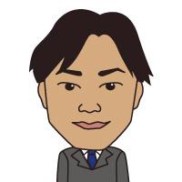 似顔絵 営業室 マネージャー武藤